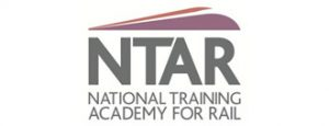 NTAR National Training Academy for Rail Logo with Text