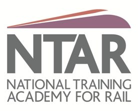 NTAR National Training for Rail Logo with text